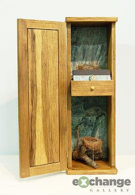 Exchange Gallery, Bloomsburg PA, Annie Barnhardt --  Assemblage