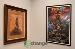 Frazetta -- Conan and Fire & Ice