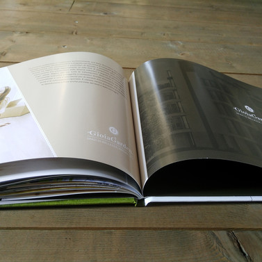 brochure real estate elegante
