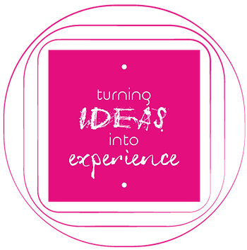 icon turning ideas into experience trasformiamo idee in esperienze