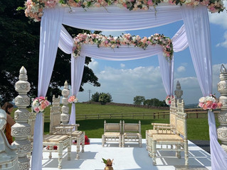 Beautiful outdoor mandap weddings...
