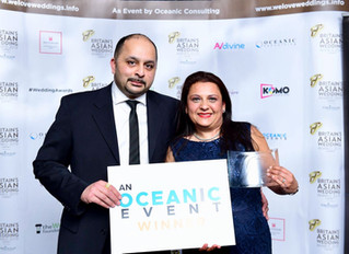 2019 Britain's Asian Wedding Awards Photo Gallery - Oceanic Consulting Event