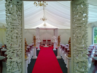 Wooden Carved Mandap: Viewing Dates