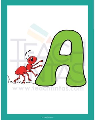 Short Vowels (color flashcards)