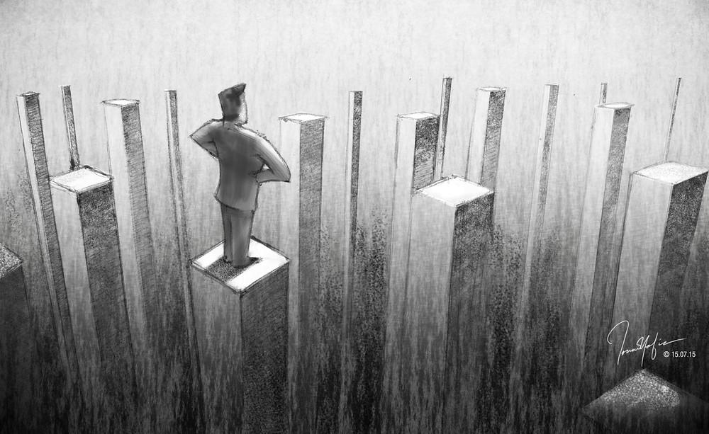 Ilustración por Fouad Hafiz
