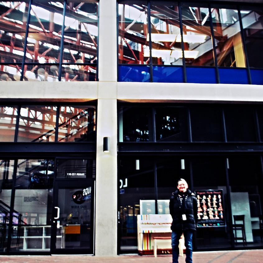 Vista exterior del nuevo estudio