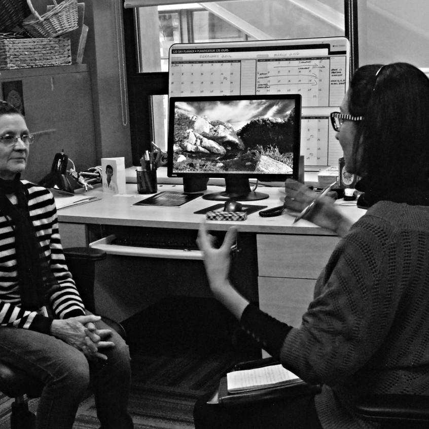 Entrevista con Barbara Bourget