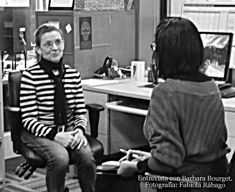 Entrevista con Barbara Bourget. Fotografía: Fabiola Rábago