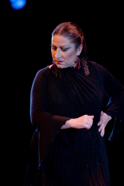 Rosario Ancer. Foto tomada de la página de Facebook de Flamenco Rosario