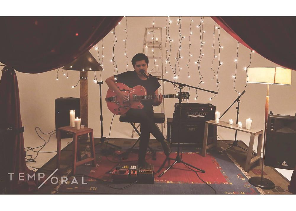 Microshow  acústico cortesía Colectivo Temp/oral