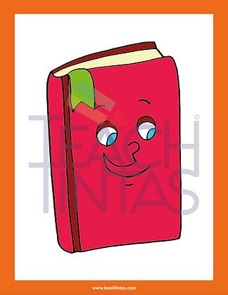 School Supplies  (color flashcards)