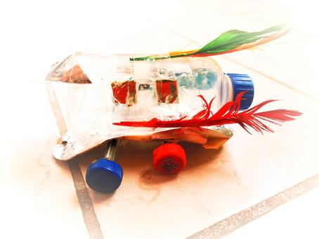 Actividad 4. Carro cohete hecho en casa