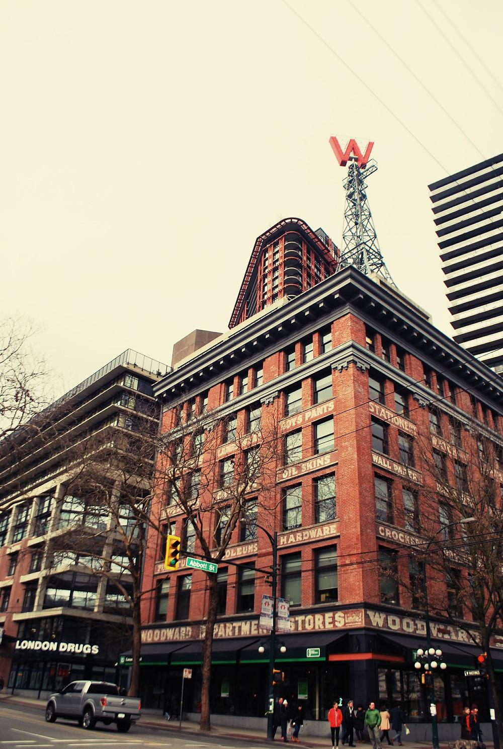 Edificio Woodward. Fotografía: Fabiola Rábago
