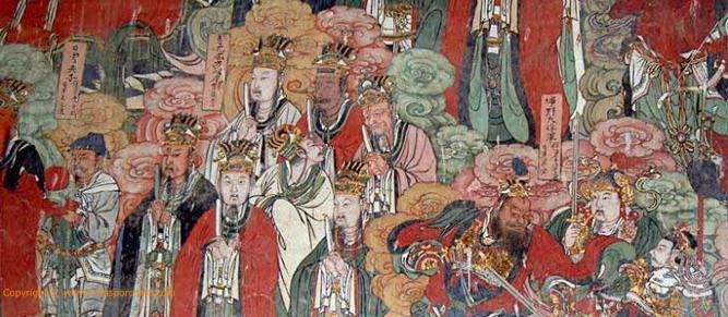 Mural Baisha, Lijiang