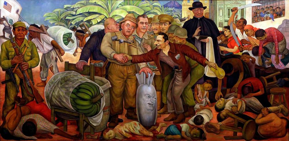 Gloriosa Victoria, mural de Diego Rivera