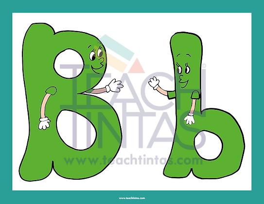 Alphabet (color flashcards)