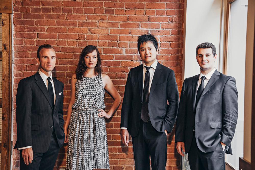 Koerner Quartet. Fotografía: Leigh Righton