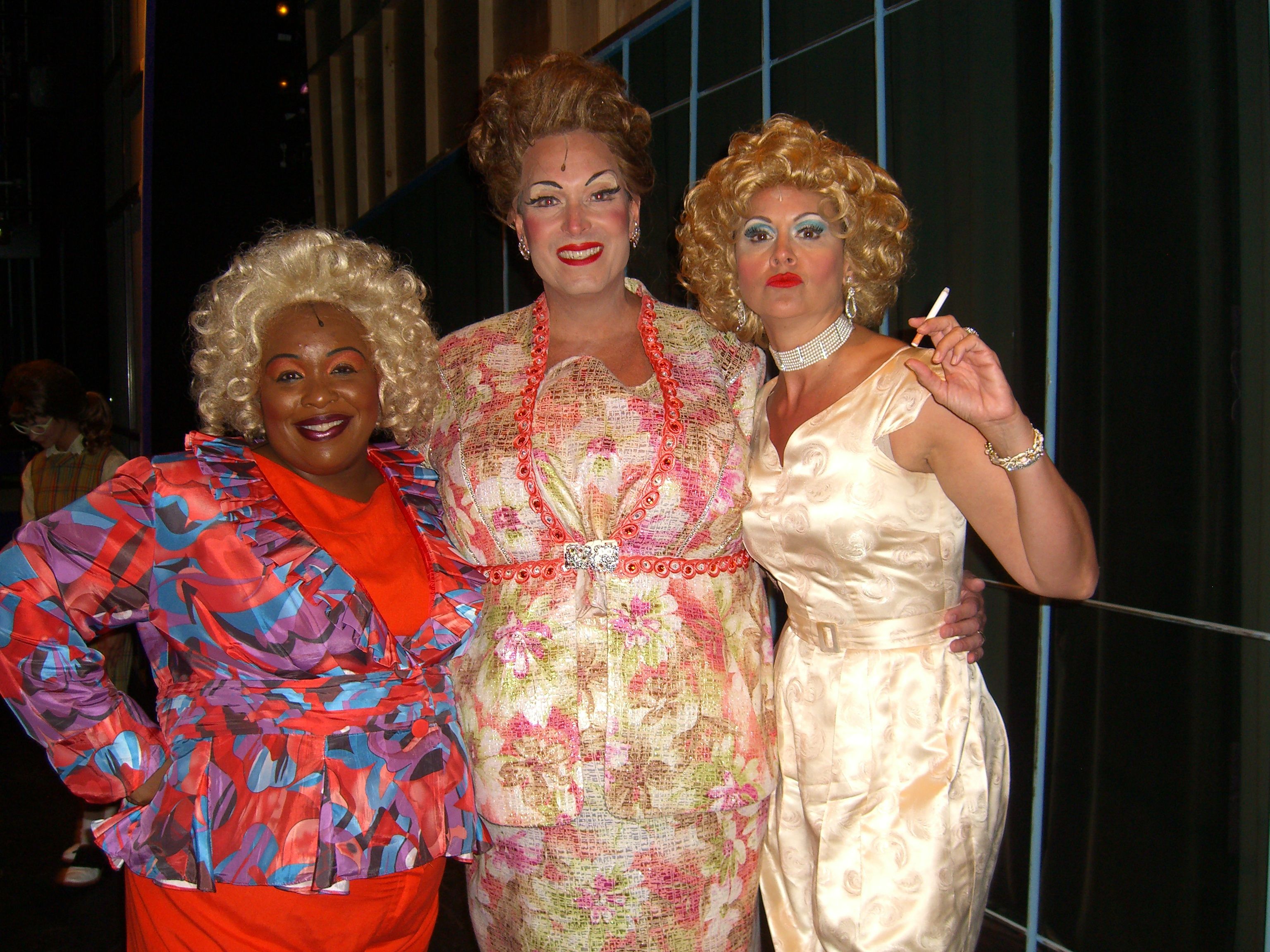"Backstage, The Ladies of ""Hairspray"""