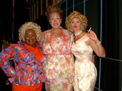 """Backstage, The Ladies of """"Hairspray"""""""
