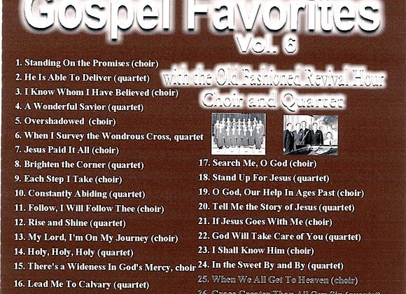 Gospel Favorites Vol. 6 by The OFRH Choir & Quartet
