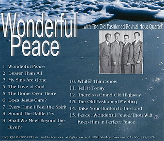 Wonderful Peace by The OFRH Quartet