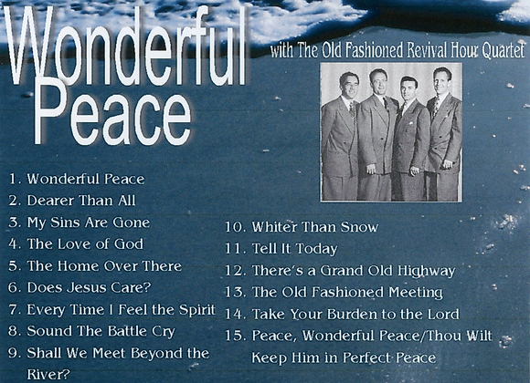 Wonderful Peace by The OFRH Quartet