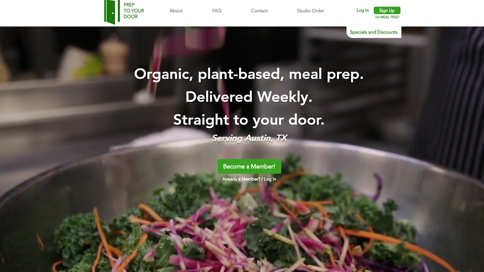 Organic Food Delivery | Online Store