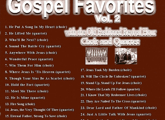 Gospel Favorites Vol. 2 by the OFRH Choir & Quartet