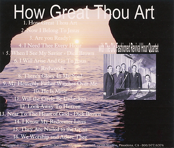 How Great Thou Art  by OFRH Quartet
