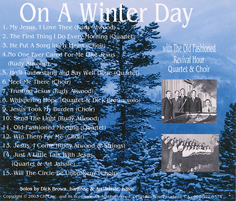 On a Winter Day by OFRH Quartet and Choir