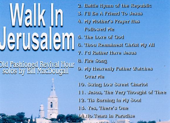 Walk in Jerusalem by Bill MacDougall