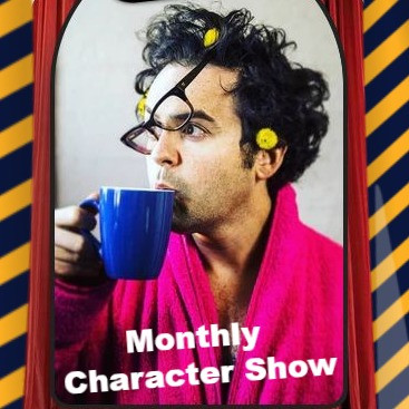 O'Brien performs monthly in-character show