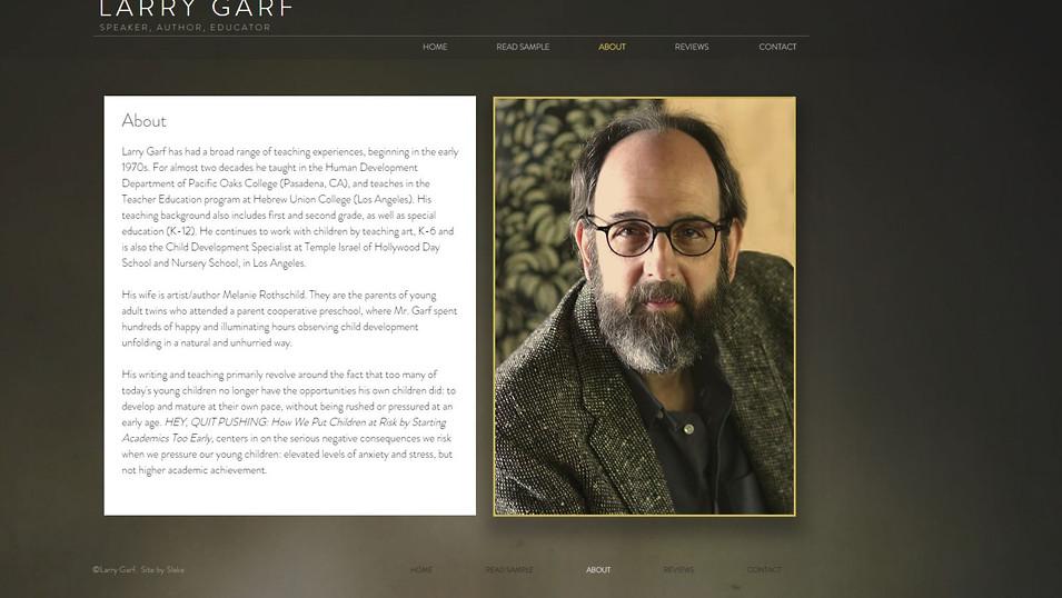 Author & Educator