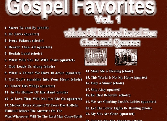 Gospel Favorites Vol. 1 by the OFRH Choir & Quartet