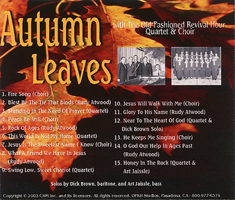 Autumn Leaves by OFRH Quartet and Choir
