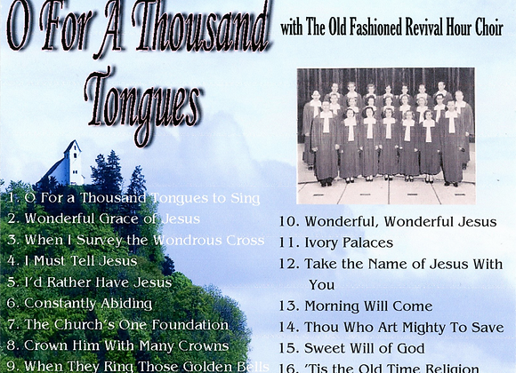 O For a Thousand Tongues  by OFRH Choir