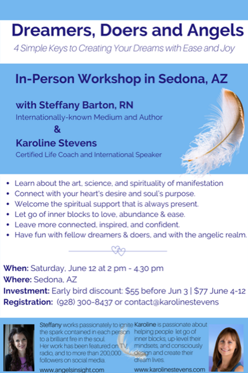 Dreamers, Doers, and Angels Workshop