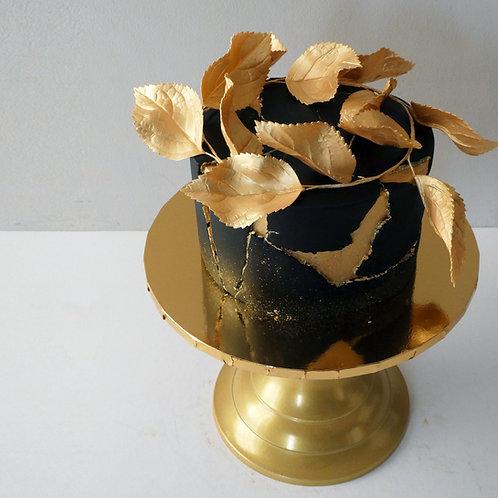 BLACK & GOLD Luxury Fruit Cake