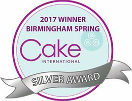 Cake International Silver Badge Award