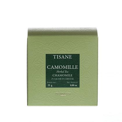 TISANE - CAMOMILLE 25 SACHETS CRISTAL ®