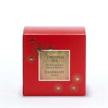 CHRISTMAS TEA, 25 SACHETS CRISTAL®