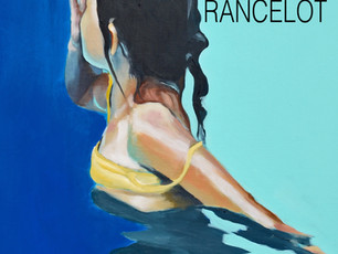 Christiane RANCELOT en exposition au Pyla sur Mer.