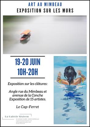 Exposition au Cap-Ferret les 19 et 20 Juin