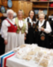 Norwegian Laft Hus, Annual Craft and Bake Sale, bunad, bunader