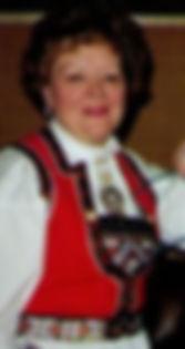 Betty Wulff, hardanger bunad