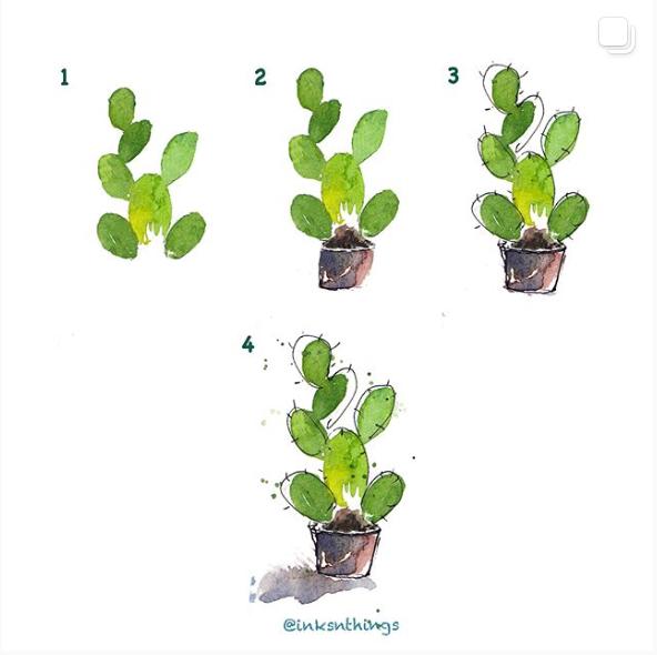 4 Step Cactus