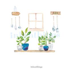 Herbs in Kitchen wm.jpg