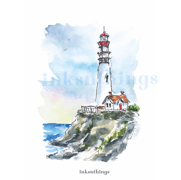 Pigeonpoint Lighthouse