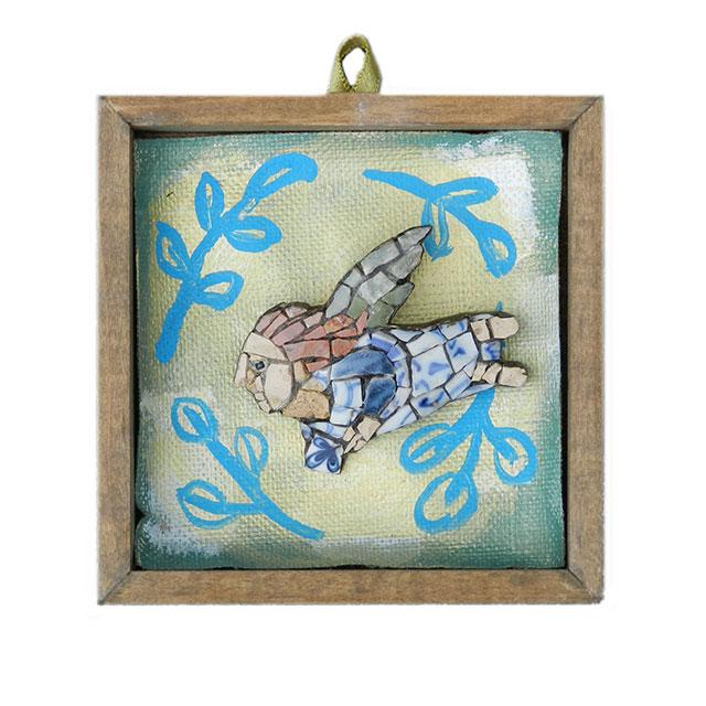 Mosaic Ikon brooch