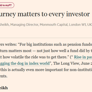 The Journey Matters - Faisal In The FT